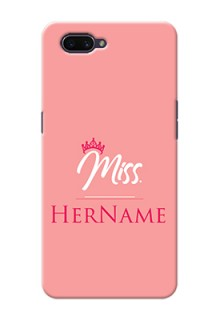 Oppo A3S Custom Phone Case Mrs with Name