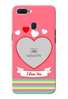 Oppo A5 Personalised mobile covers: Love Doodle Design