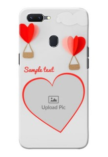 Oppo A5 Phone Covers: Parachute Love Design