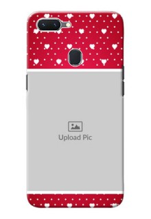 Oppo A5 custom back covers: Hearts Mobile Case Design
