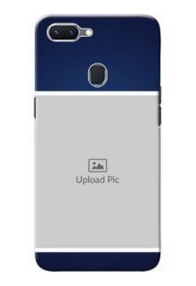 Oppo A5 Mobile Cases: Simple Royal Blue Design