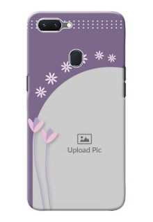 Oppo A5 Phone covers for girls: lavender flowers design
