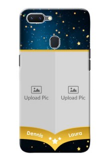 Oppo A5 Mobile Covers Online: Galaxy Stars Backdrop Design
