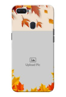 Oppo A5 Mobile Phone Cases: Autumn Maple Leaves Design