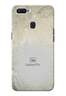 Oppo A5 custom mobile back covers with vintage design