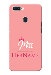 Oppo A5 Custom Phone Case Mrs with Name