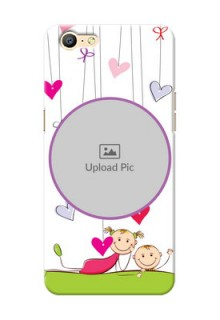 Oppo A57 Cute Babies Mobile Cover  Design