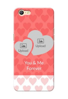 Oppo A57 Couples Picture Upload Mobile Cover Design