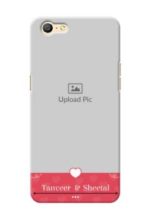 Oppo A57 simple love Design