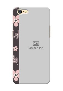 Oppo A57 stylish floral side Design