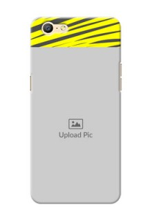 Oppo A57 yellow abstract stripes design Design Design
