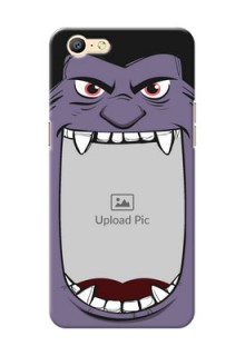 Oppo A57 angry monster backcase Design
