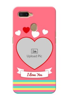 Oppo A5s Personalised mobile covers: Love Doodle Design