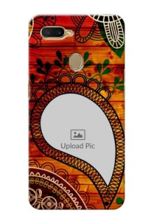 Oppo A5s custom mobile cases: Abstract Colorful Design
