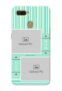 Oppo A5s custom mobile phone covers: Mom & Dad Pic Design