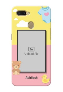 Oppo A5s Back Covers: Kids 2 Color Design