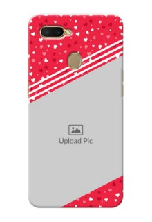 Oppo A7 Custom Mobile Covers:  Valentines Gift Design