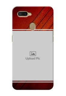 Oppo A7 Back Covers: Leather Phone Case Design