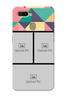 Oppo A7 personalised phone covers: Bulk Pic Upload Design