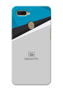 Oppo A7 Back Covers: Simple Pattern Photo Upload Design