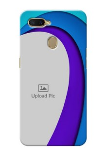 Oppo A7 custom back covers: Simple Pattern Design