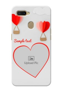 Oppo A7 Phone Covers: Parachute Love Design