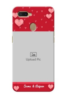 Oppo A7 Mobile Back Covers: Valentines Day Design