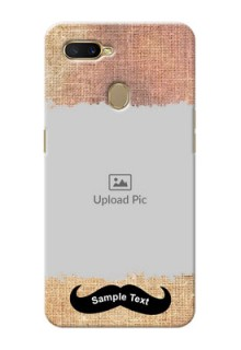 Oppo A7 Mobile Back Covers Online with Texture Design