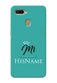 Oppo A7 Custom Phone Case Mr with Name