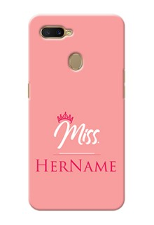 Oppo A7 Custom Phone Case Mrs with Name