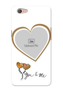 Oppo A71 You And Me Mobile Back Case Design