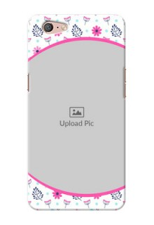 Oppo A71 Colourful Flowers Mobile Cover Design