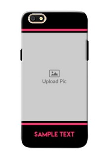 Oppo A77 Photo With Text Mobile Case Design