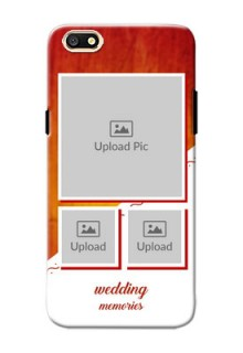 Oppo A77 Wedding Memories Mobile Cover Design
