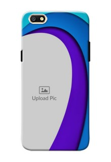 Oppo A77 Simple Pattern Mobile Case Design