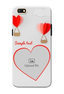 Oppo A77 Love Abstract Mobile Case Design