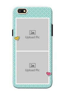 Oppo A77 2 image holder with pattern Design