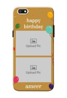 Oppo A77 2 image holder with birthday celebrations Design