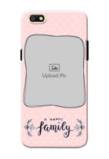 Oppo A77 A happy family with polka dots Design