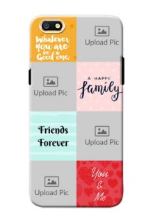 Oppo A77 4 image holder with multiple quotations Design