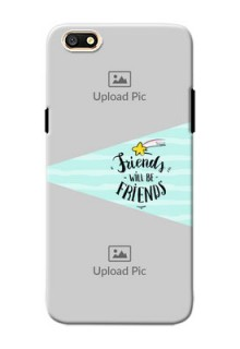 Oppo A77 2 image holder with friends icon Design