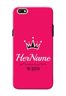 Oppo A77 Queen Phone Case with Name