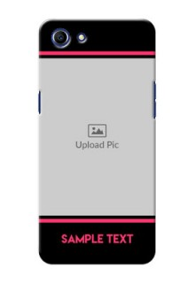 Oppo A83 Photo With Text Mobile Case Design