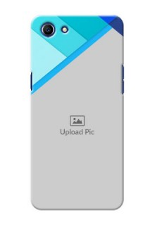 Oppo A83 Blue Abstract Mobile Cover Design