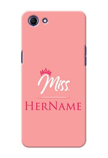 Oppo A83 Custom Phone Case Mrs with Name