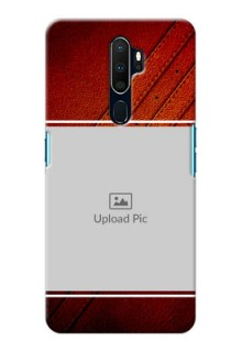 Oppo A9 2020 Back Covers: Leather Phone Case Design