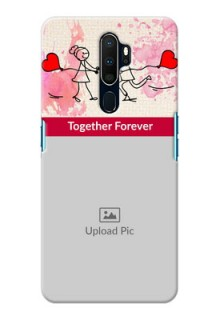 Oppo A9 2020 phone back covers: You and Me Case Design
