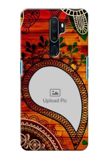 Oppo A9 2020 custom mobile cases: Abstract Colorful Design