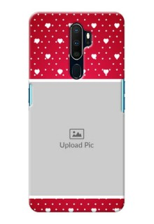 Oppo A9 2020 custom back covers: Hearts Mobile Case Design