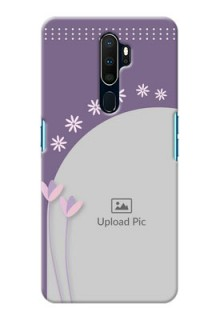 Oppo A9 2020 Phone covers for girls: lavender flowers design